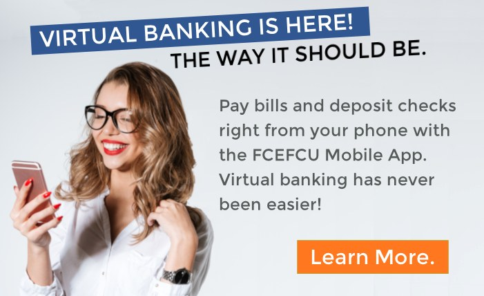 FCEFCU Online Banking promo